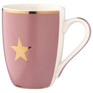 Tasse mit goldenem Stern