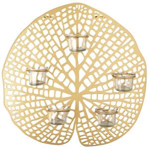 Wandhänger mit 5 Teelichthaltern