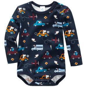 Baby Langarmbody mit Autos allover