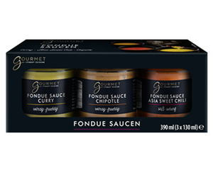 GOURMET Fondue- oder Raclettesaucen