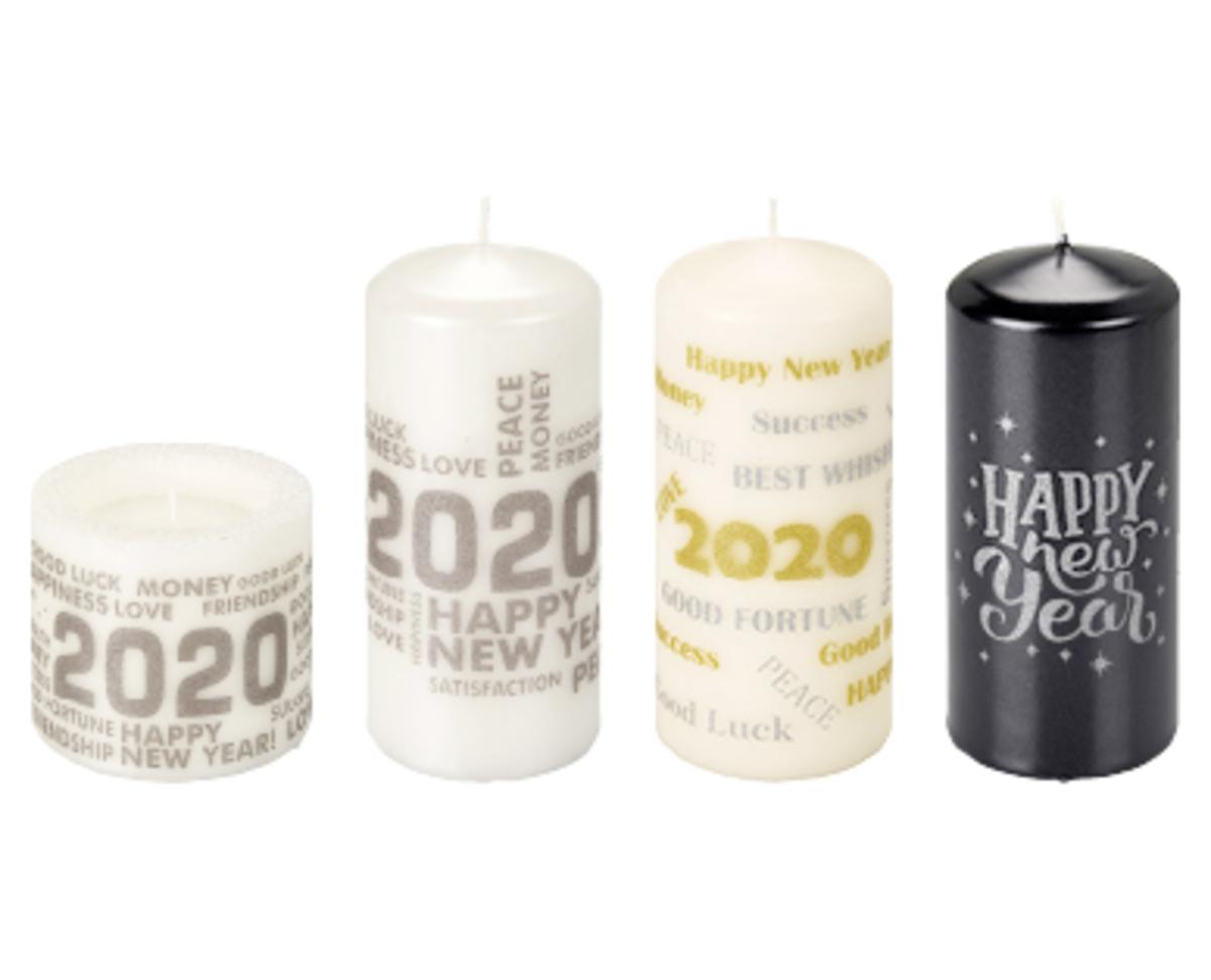 Bild 1 von CASA Deco Kerzensortiment Silvester