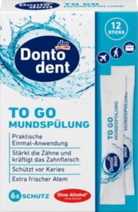 Dontodent Mundspülung TO GO
