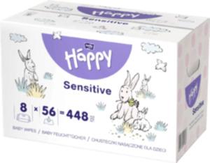 Bella Baby Happy Feuchttücher Sensitive mit Klickverschluss 8x56 Stück
