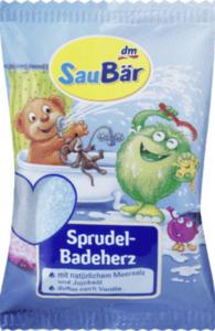 SauBär Saubär Sprudel Badeherz 50g