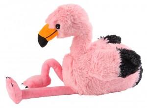 Warmies Wärme-Stofftier Flamingo ,  Das weltweit erste Wärme-Stofftier vollständig für die Mikrowelle