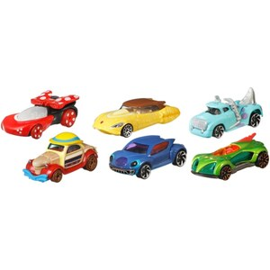 Hot Wheels - Disney Character Car, sortiert