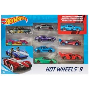 Hot Wheels - Fahrzeuge, 9er Pack