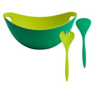 JAKO-O Bambus-Salatschüssel + Besteck