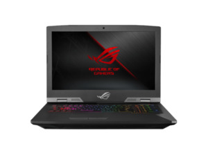ASUS G703GX-E5006T Gaming Notebook mit Core™ i9, 16 GB RAM, 512 GB & GeForce® RTX™ 2080 in Titanium/Schwarz