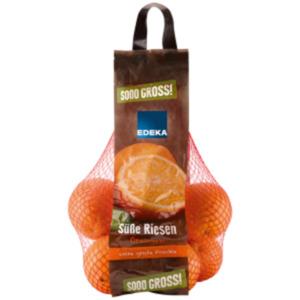 """EDEKA  Orangen """"Süße Riesen"""""""