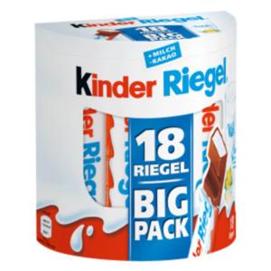 Ferrero Duplo oder Kinder Riegel Big Pack