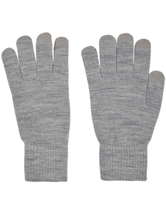 Herren Handschuhe in Melangeoptik – Touchscreen-fähig