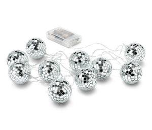 LED-Lichterkette mit Discokugeln