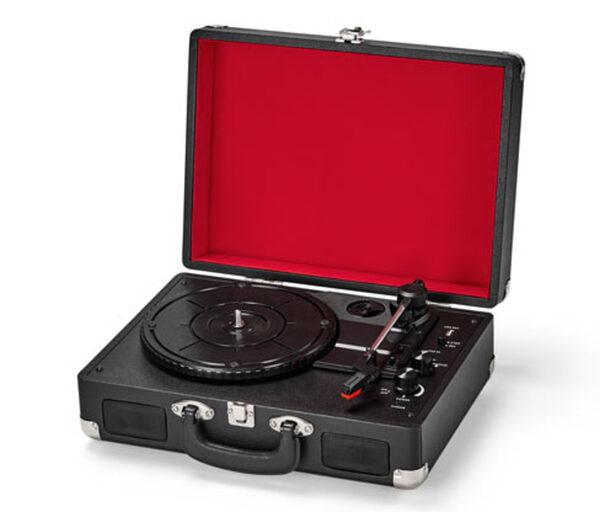 Tragbarer Retro-Plattenspieler mit Bluetooth®-Funktion