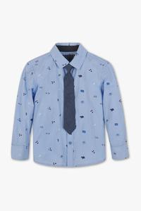 Set - Hemd und Krawatte - Bio-Baumwolle