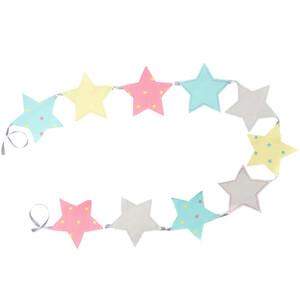 Sternen Girlande mit 10 Sternen