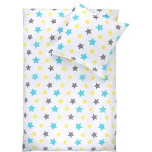 Kinder Wendebettwäsche mit Sternen