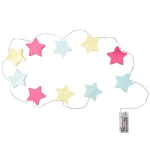 LED-Lichterkette mit Sternen