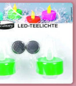 LED Teelichte