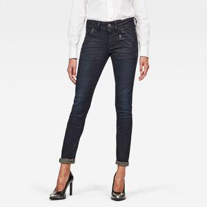 Lynn Biker Mid Skinny Jeans