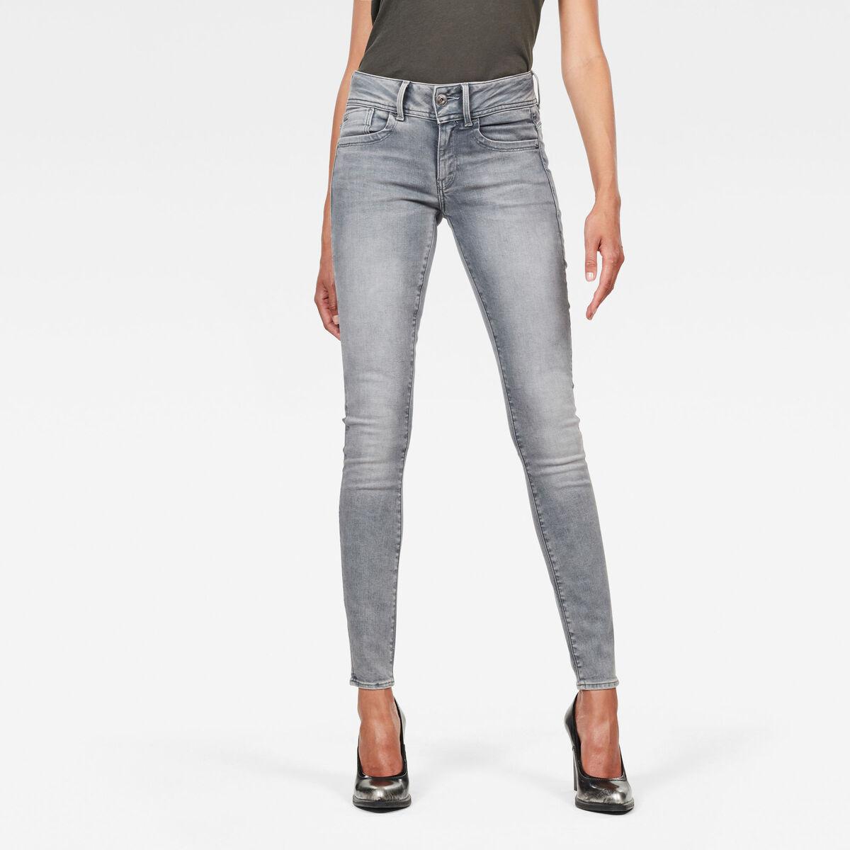 Bild 1 von Lynn Mid Waist Skinny Jeans