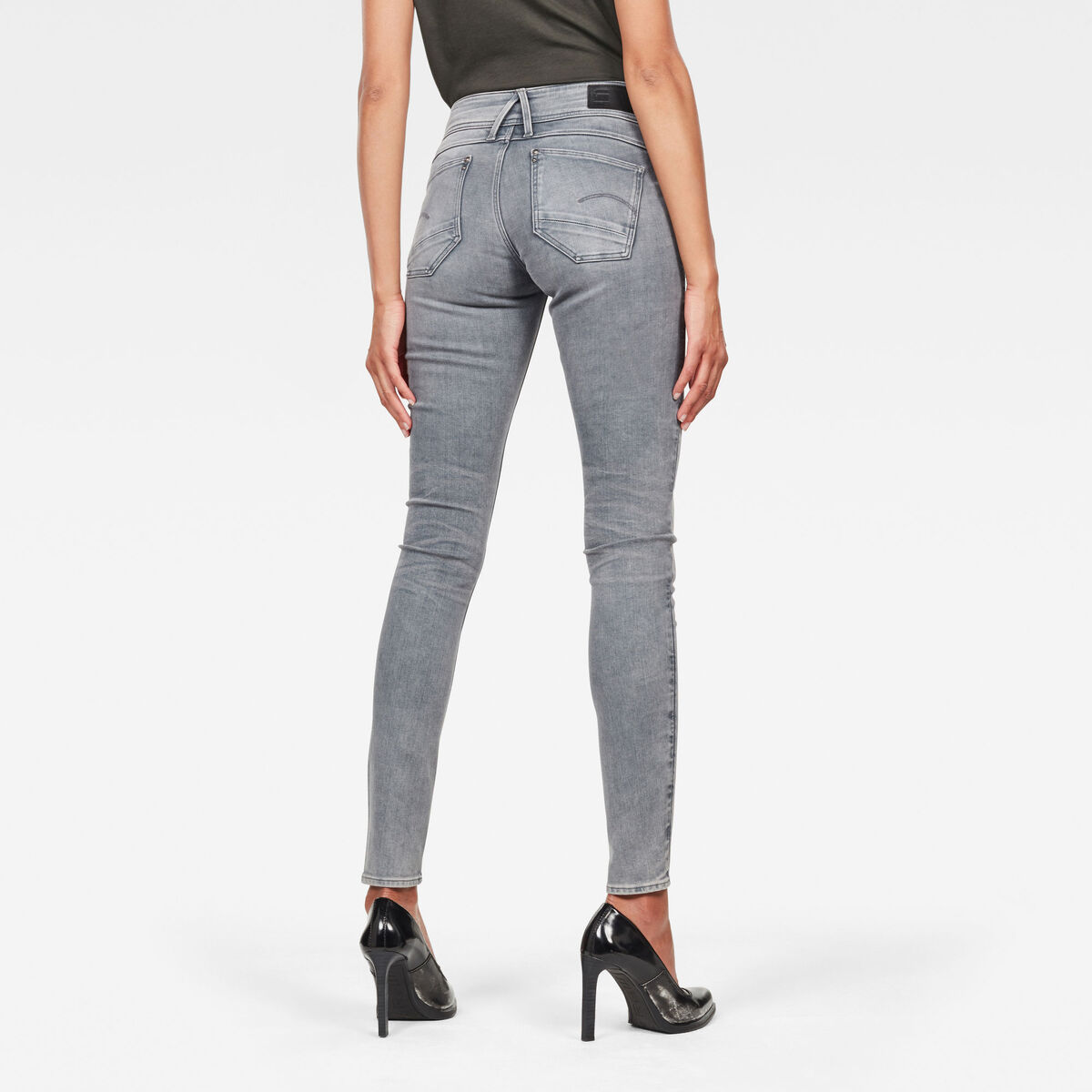 Bild 2 von Lynn Mid Waist Skinny Jeans