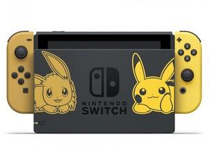 Switch Konsole Pokémon Let's Go Pikachu |  B-Ware - der Artikel wurde vom Hersteller geprüft und ist technisch einwandfrei - kann Gebrauchsspuren aufweisen - ohne Spiel