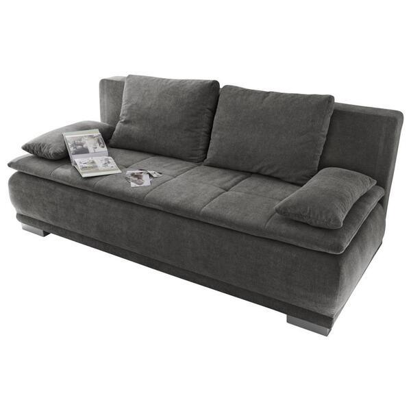 Sofa mit Schlaffunktion in Grau 'Luigi LUX.3DL' von Mömax ...