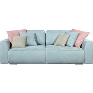 Sofa mit Schlaffunktion in Hellblau 'Lazy 3DL'
