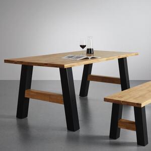 Esstisch aus Massivholz ca. 180x90 cm 'Oliver'