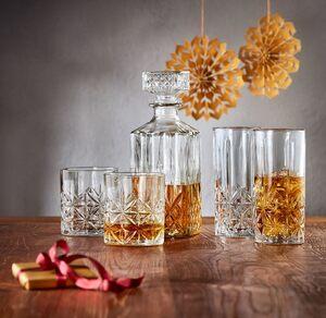 Glaskaraffe, Gläser-Set