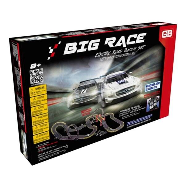 Electric Power Big Race Strassenrennen Set