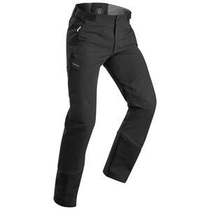 Softshellhose Winterwandern SH520 Extra-Warm Herren schwarz