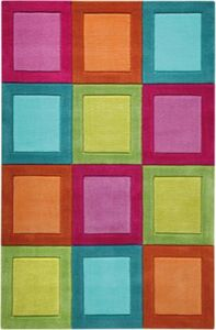 Teppich Smart Button mehrfarbig Gr. 150 x 220