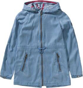 Parka aus Sommerdenim  light blue denim Gr. 146/152 Mädchen Kinder