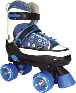 Rollschuhe Quad Style, blau Gr. 32-35