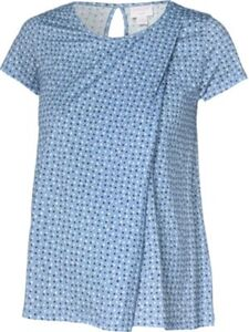 Umstandsshirt blau Gr. 40 Damen Kinder