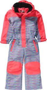 Kinder Skianzug TIGER pink Gr. 92