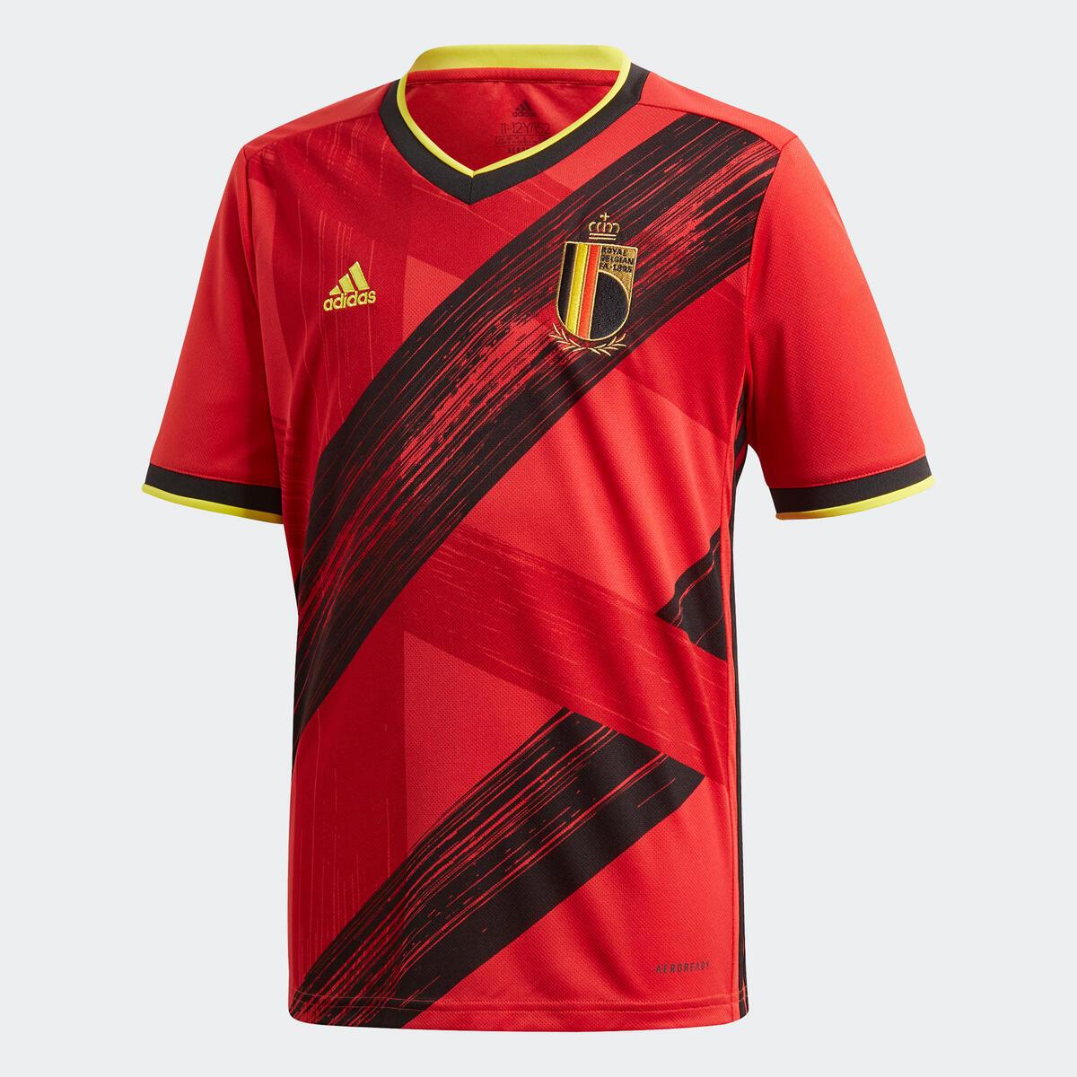 Bild 1 von Fußballtrikot Belgien Home EURO 2020 Erwachsene