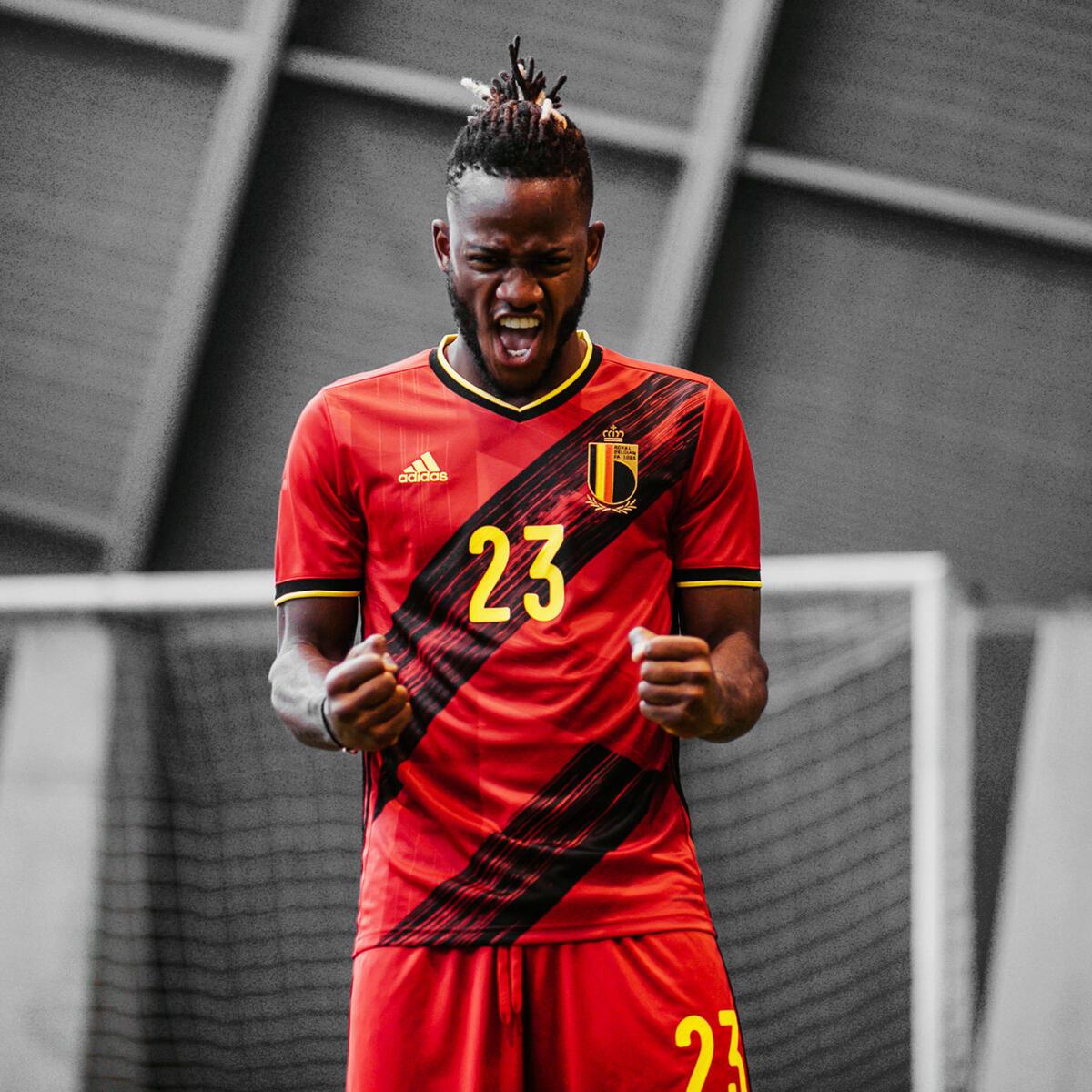 Bild 2 von Fußballtrikot Belgien Home EURO 2020 Erwachsene
