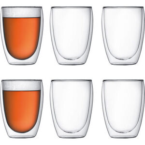 Bodum Gläser Pavina, 6-er Set, klar