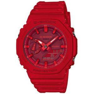 """Casio Herren Chronograph G-Shock """"GA-2100-4AER"""", rot"""