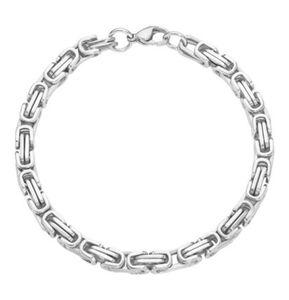 manguun Herren Armband, silber, 20 cm