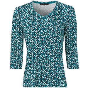 Olsen Damen Shirt mit V-Ausschnitt
