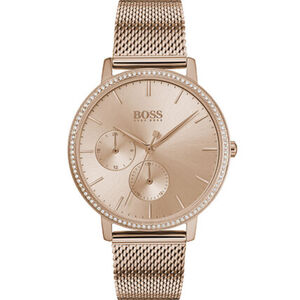"""BOSS Watches Damenuhr Infinty """"1502519"""", roségold"""