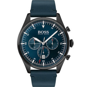 "BOSS Watches Herren Chronograph Pioneer ""1513711"", dunkelblau"