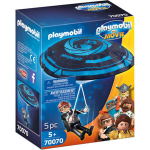 PLAYMOBIL® The Movie - Rex Dasher mit Fallschirm 70070