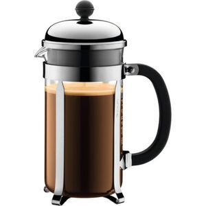 Bodum Kaffeebereiter Chambord, 1 l, grau