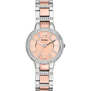"Fossil Damenuhr Virginia ""ES3405"", Rose"