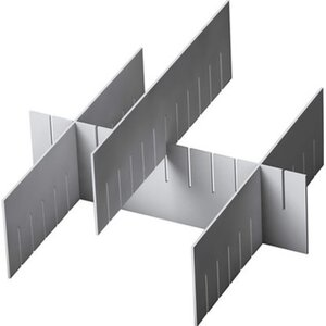 OBI Eurobox-System Tauro Abtrenner 55,4 cm x 11 cm Weiß